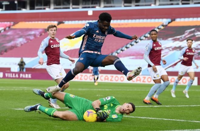 Aston Villa vs Arsenal anh 15