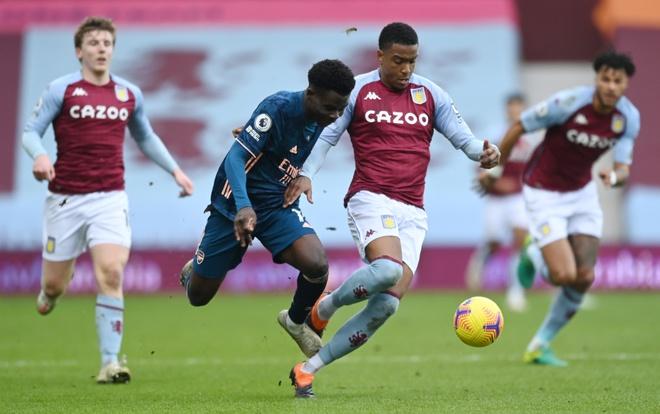 Aston Villa vs Arsenal anh 17