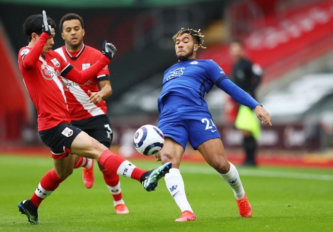 Southampton dau Chelsea anh 2