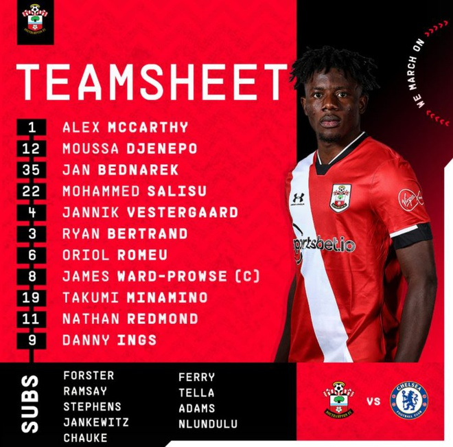 Southampton dau Chelsea anh 7