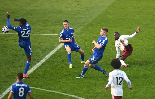 Leicester vs Arsenal anh 19