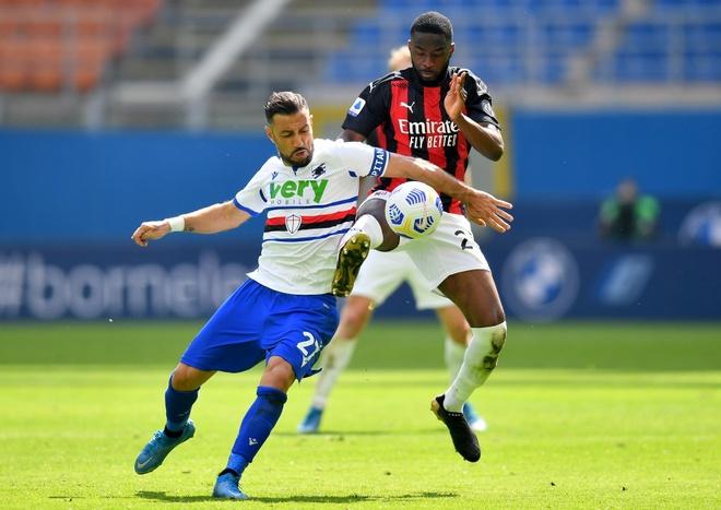 Milan vs Sampdoria anh 21