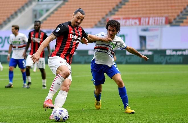Milan vs Sampdoria anh 15