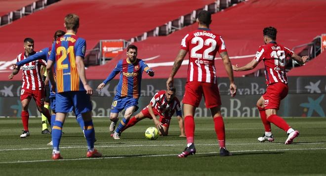 Barca dau Atletico Madrid anh 7