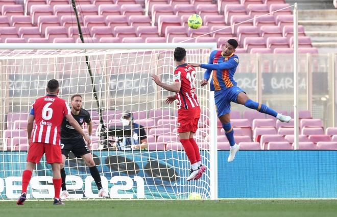 Barca dau Atletico Madrid anh 1