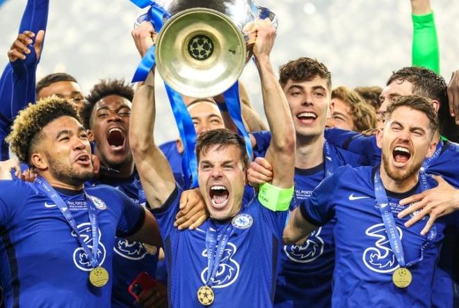 Chelsea vô địch Champions League - Thể thao