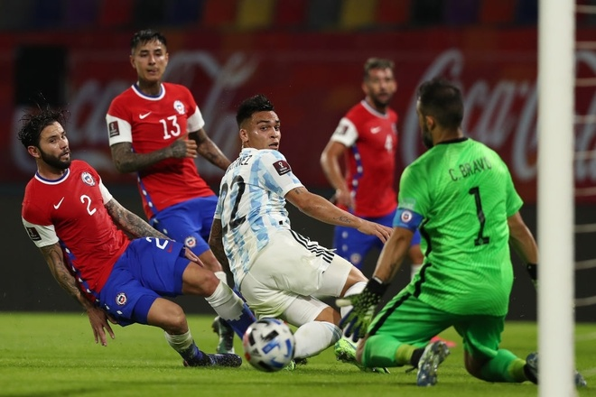Argentina vs Chile anh 17