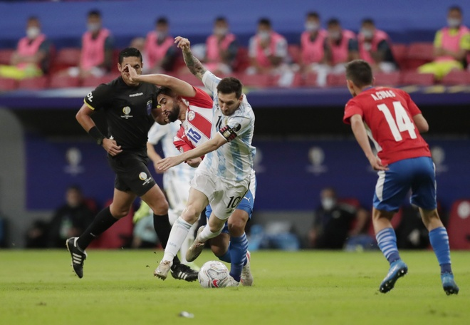 Argentina vs Paraguay anh 18
