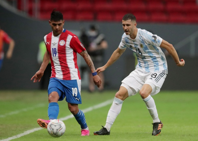 Argentina vs Paraguay anh 22