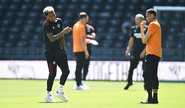 Derby vs Man Utd anh 14