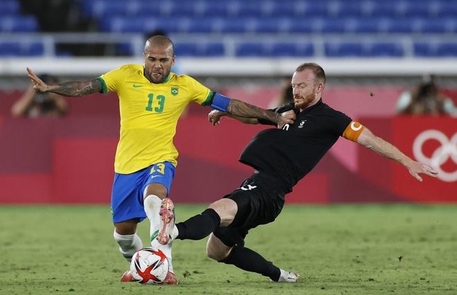 Olympic Brazil vs Bo Bien Nga anh 6