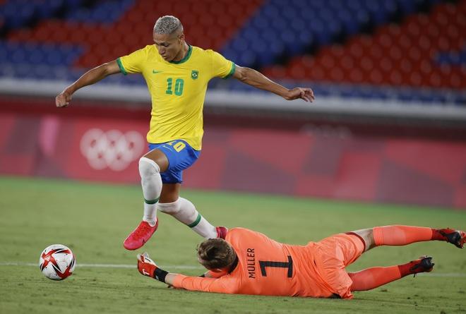 Olympic Brazil vs Duc anh 15