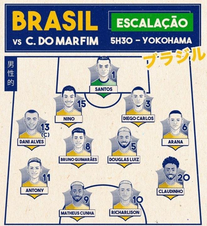Olympic Brazil vs Bo Bien Nga anh 5