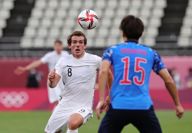 U23 New Zealand gặp nhiều khó khăn trong việc tiếp cận khung thành Nhật Bản