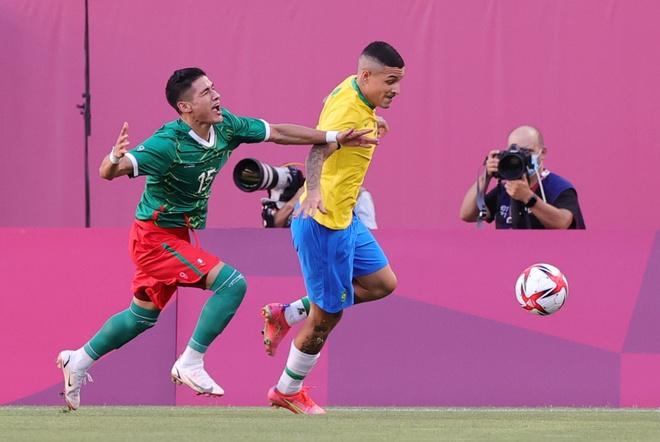 Olympic Mexico vs Brazil anh 8