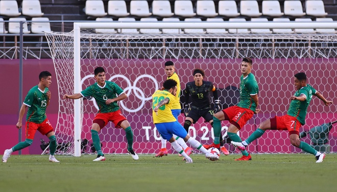 Olympic Mexico vs Brazil anh 6
