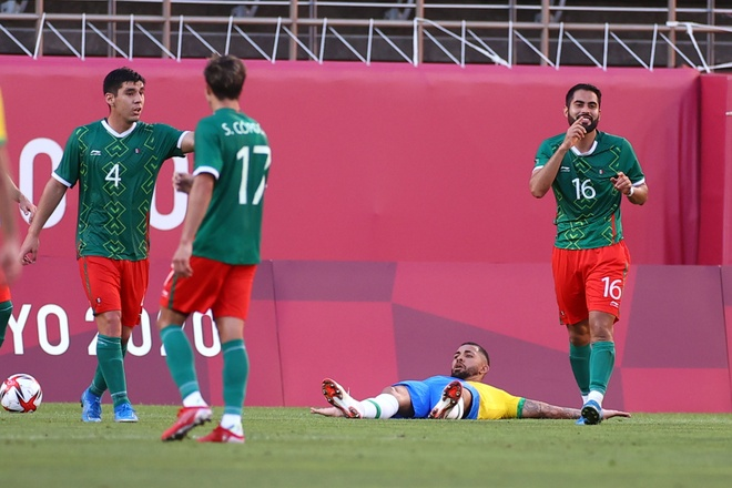 Olympic Mexico vs Brazil anh 10