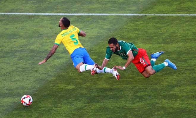 Olympic Mexico vs Brazil anh 9
