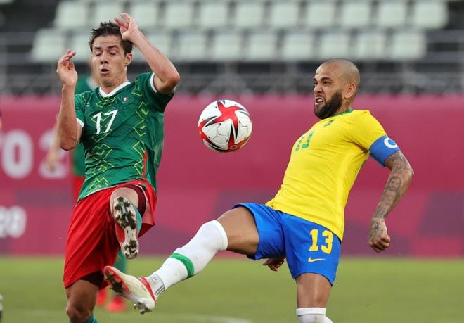 Olympic Mexico vs Brazil anh 15