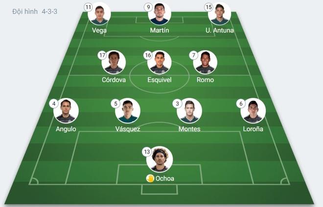 Olympic Mexico vs Brazil anh 4