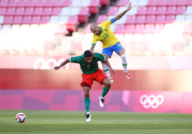 Olympic Brazil vs Tay Ban Nha anh 1