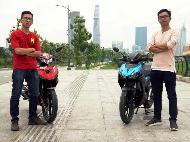 So ke Honda Winner X va Yamaha Exciter - khac biet o ngoai hinh hinh anh