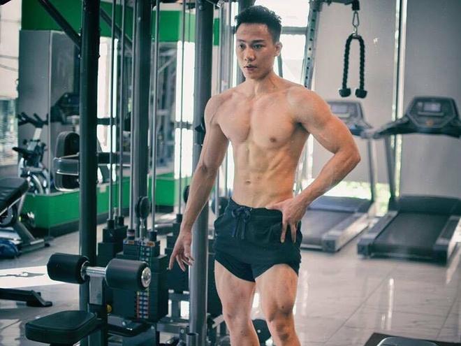 9X tap gym giup tang 18 kg va 5 cm chieu cao hinh anh