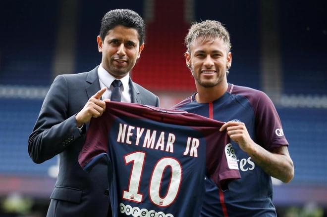 Neymar song buong tha tu khi gia nhap PSG anh 3