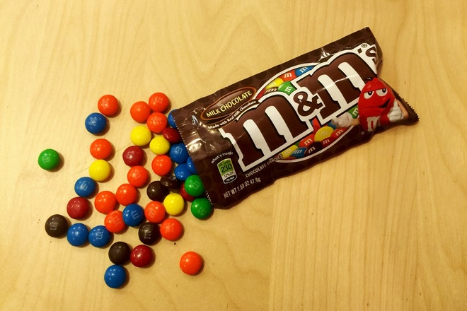 Keo chocolate M&M's duoc san xuat nhu the nao? hinh anh 7