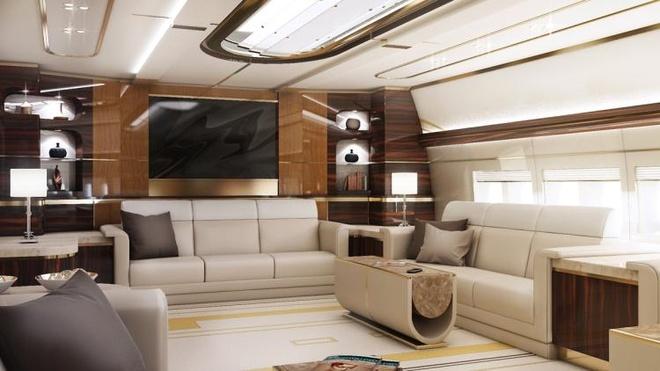 Ben trong may bay Boeing 747-8 VIP gia 367 trieu USD hinh anh