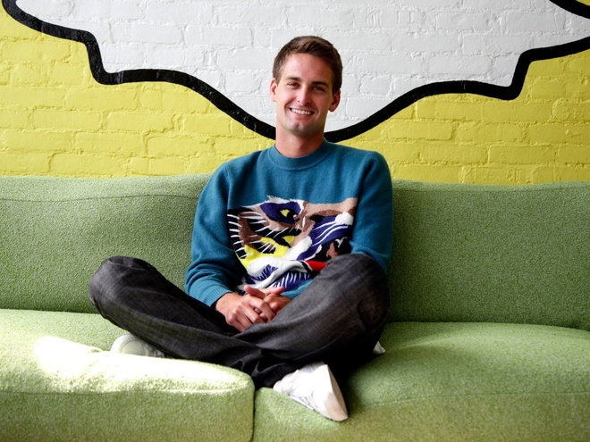 CEO Snapchat,  Evan Spiegel anh 29