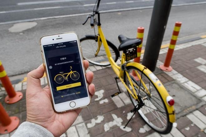 Ung dung 'Uber cho xe dap' no ro tai Trung Quoc hinh anh 1