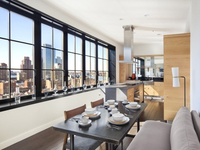 Can penthouse 10 trieu USD tren noc thanh pho New York hinh anh 11