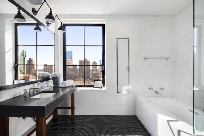 Can penthouse 10 trieu USD tren noc thanh pho New York hinh anh 13