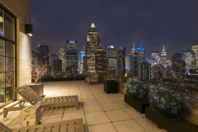 Can penthouse 10 trieu USD tren noc thanh pho New York hinh anh 2