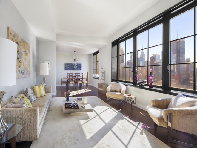 Can penthouse 10 trieu USD tren noc thanh pho New York hinh anh 5