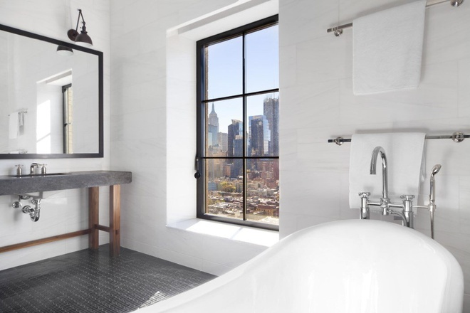 Can penthouse 10 trieu USD tren noc thanh pho New York hinh anh 7