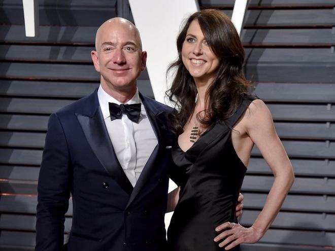Nhung dieu it biet ve cuoc hon nhan cua ty phu Jeff Bezos hinh anh