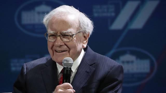 Ty phu Warren Buffett vua quyen gop 3,4 ty USD lam tu thien hinh anh