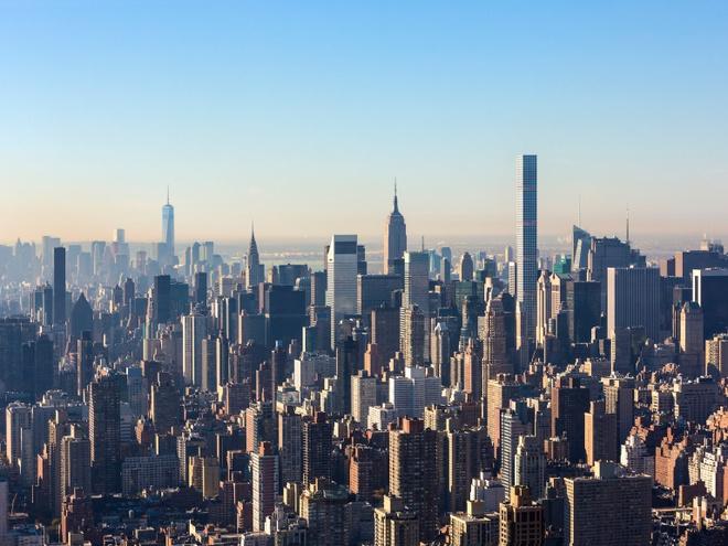 Can penthouse tai chung cu cao nhat New York chia doi moi ban duoc hinh anh 1
