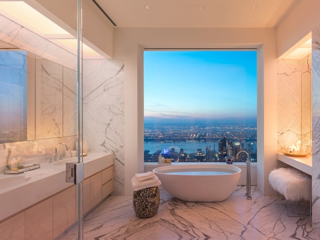 Can penthouse tai chung cu cao nhat New York chia doi moi ban duoc hinh anh 10
