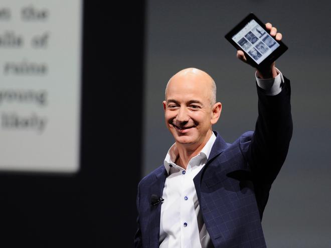 Jeff Bezos,  Amazon,  tu thien,  ty phu anh 2