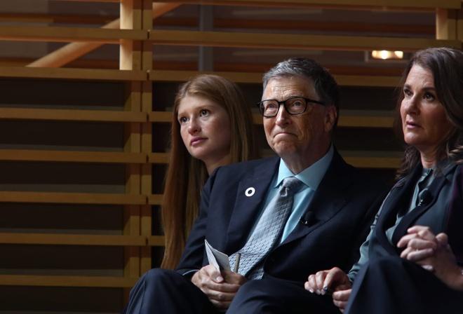 Bill Gates,  con gai Bill Gates ,  Jennifer Gates,  ty phu anh 1