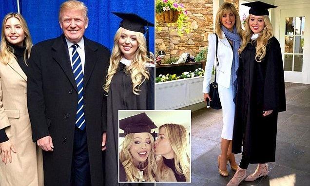 Tiffany Trump,  Donald Trump,  tong thong My anh 6