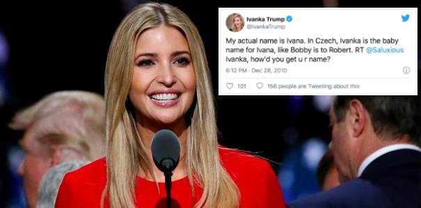 Ivanka Trump,  gia dinh tong thong Trump anh 1