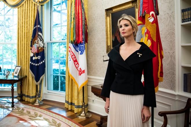 Ivanka Trump,  gia dinh tong thong Trump anh 8