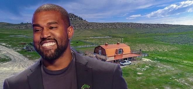 Kim Kardashian,  Kanye West,  biet thu anh 10