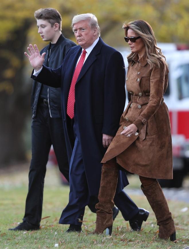 Barron Trump,  Donald Trump,  tong thong My anh 4