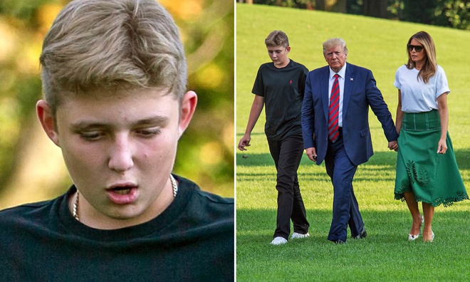 Barron Trump,  Donald Trump,  tong thong My anh 12