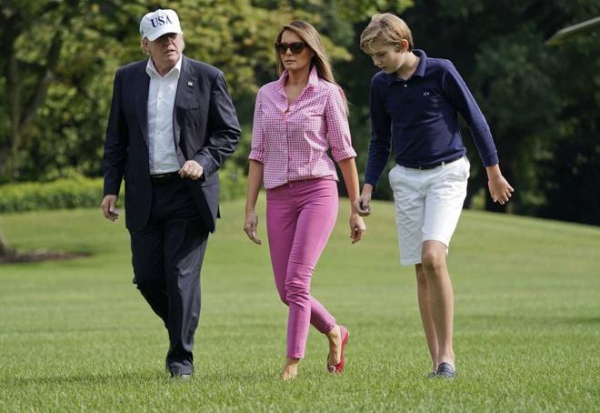 Barron Trump,  Donald Trump,  tong thong My anh 10